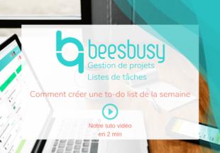 Découvrez les 4 conseils de Beesbusy pour faire une to-do list efficace