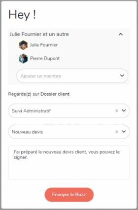 Envoyez une notification personnalisée depuis une tâche