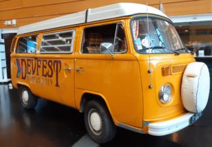 Beesbusy en visite au DevFest 2019 à Nantes.