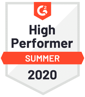 Beesbusy received the Summer 2020 High Performer badge from G2
