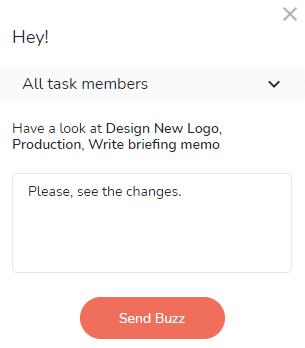 Create buzz