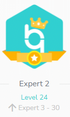 The expert level enables you to access features in advance.