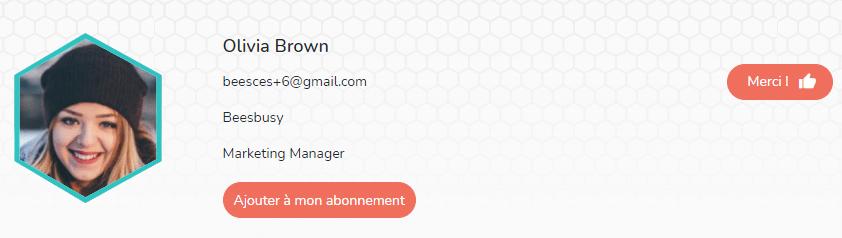 Information member