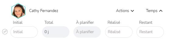 Notion de temps à planifier