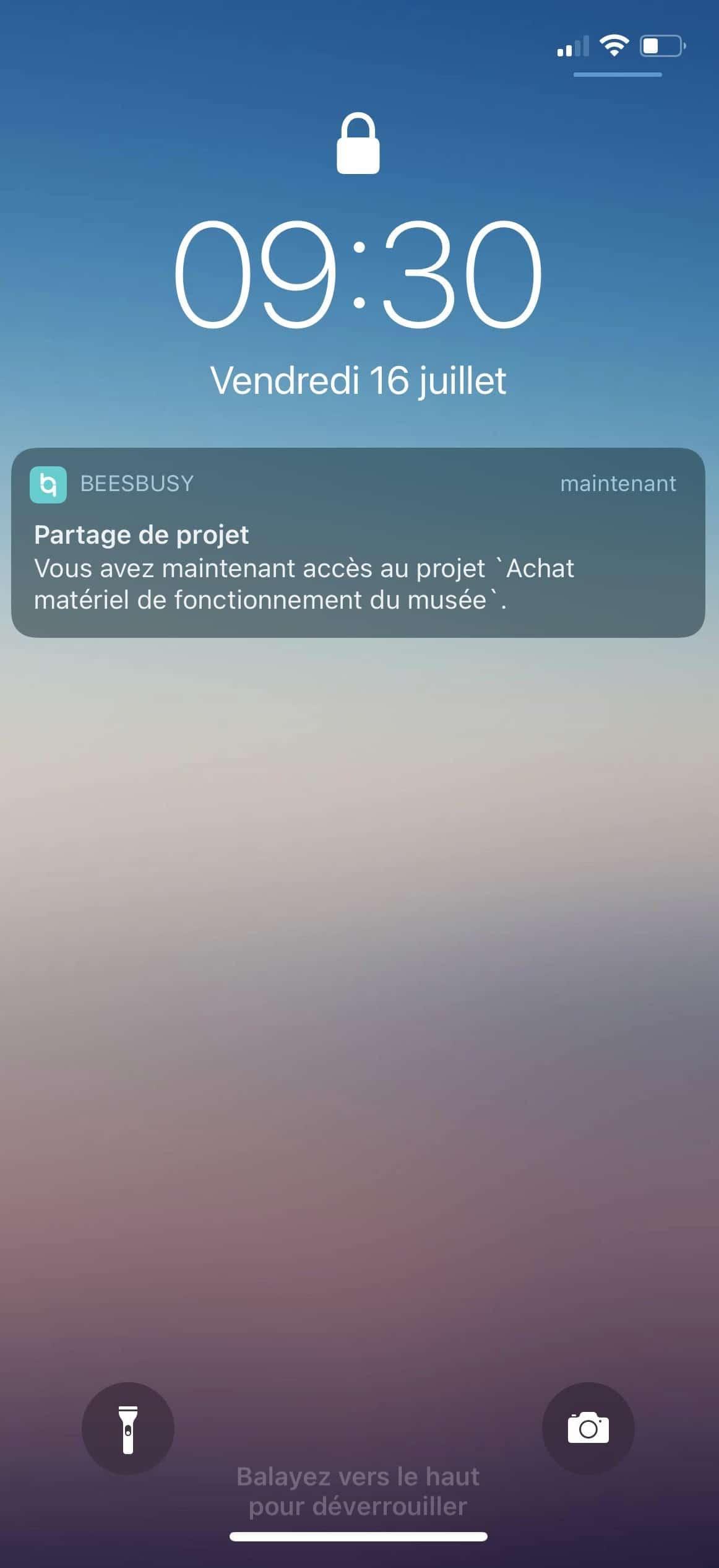 Buzz notification push