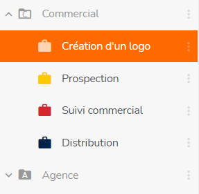 Dossiers de projets