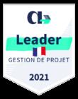 Badge d'AppVizer désignant Beesbusy comme leader en gestion de projet